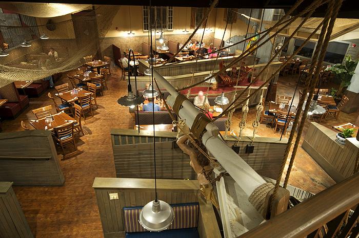 Pirate S Landing Seafood Restaurant